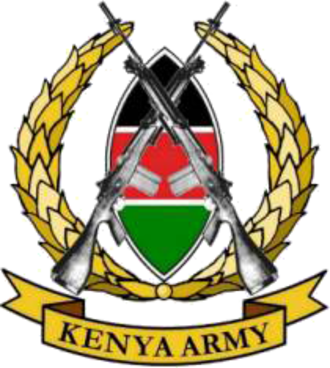 Kenya Army - Coat of arms of the Kenya Army