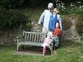 Seat beside road in Luppitt - geograph.org.uk - 1364553.jpg