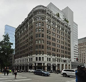 Cobb Building (Seattle) - The Cobb Building in 2015