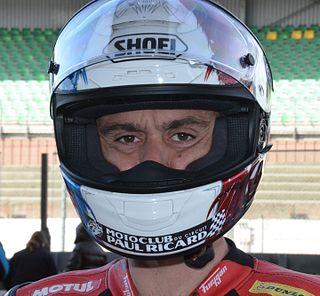 Sébastien Gimbert French motorcycle racer