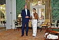 Secretary Kerry and Burmese State Counselor Aung San Suu Kyi Pose for a Photo at the Blair House in Washington (29646009486).jpg