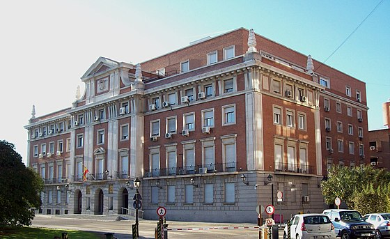 The Spanish Agency for International Development Cooperation headquarters in Madrid. Sede de la AECID (Madrid) 01.jpg