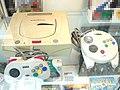 Sega Saturn at Nostalgia Game Show 20210313.jpg