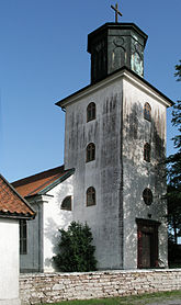 Fil:Segerstad church tower.jpg