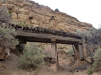 National Register of Historic Places listings in Grand County, Utah - Image: Sego Ghost Town Bridge dyeclan.com panoramio