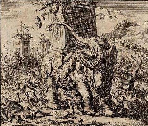 Seleucis war elephant