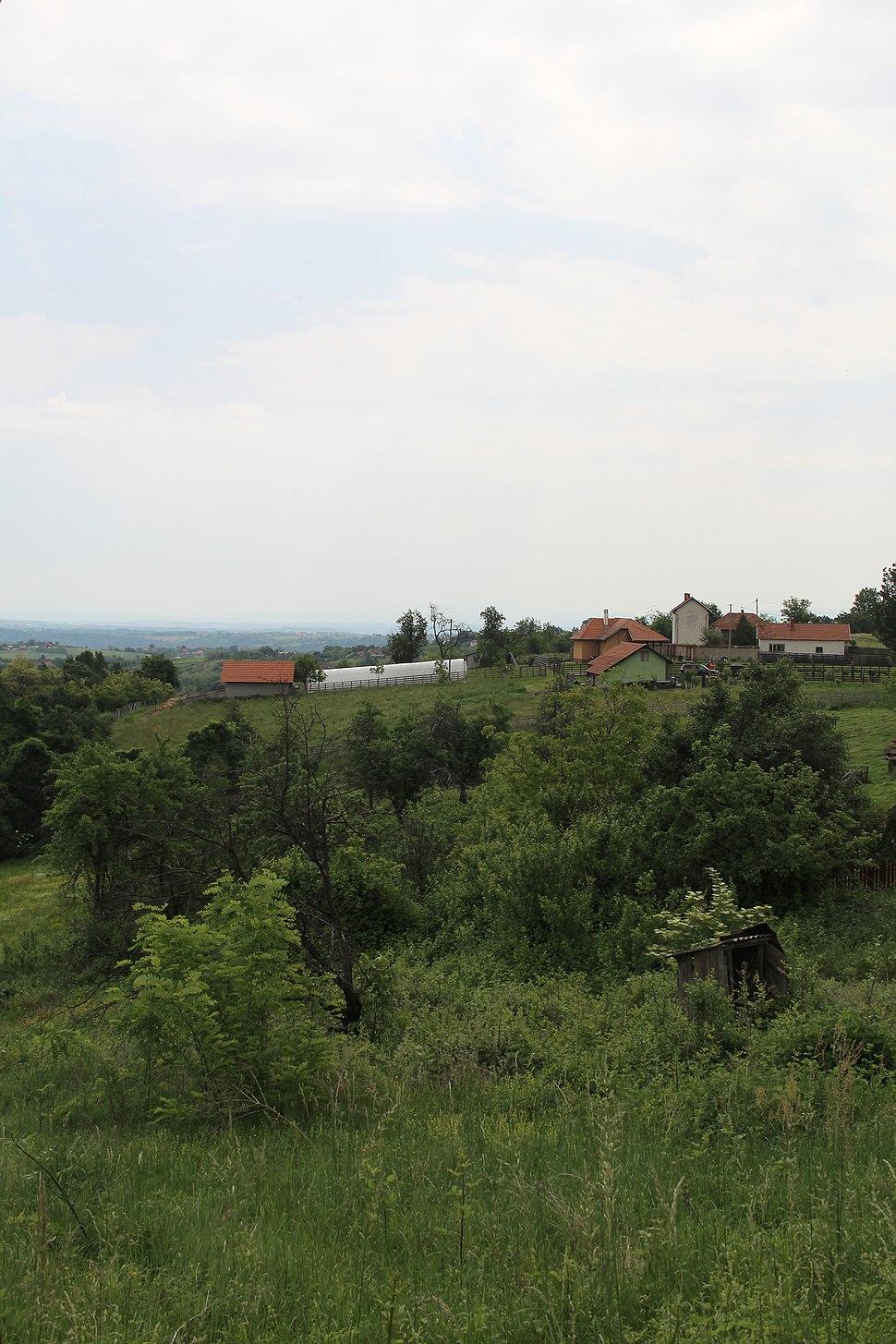 Selo Kotešica - opština Valjevo - zapadna Srbija - Panorama 1