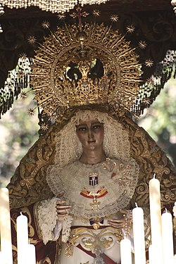 Mercedes El Paso >> Hermandad de Santa Genoveva (Sevilla) - Wikipedia, la enciclopedia libre