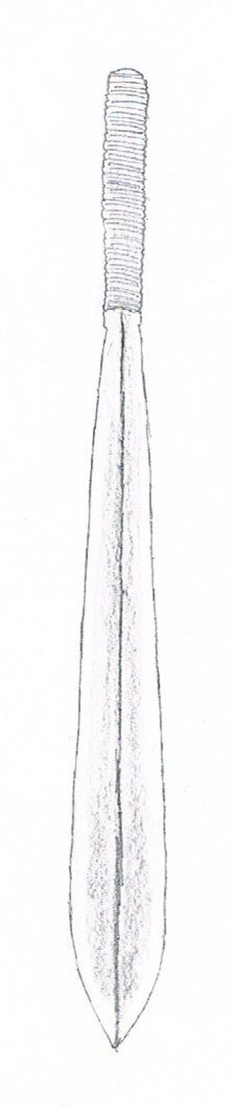 Seme (dagger) - Sketch of a seme