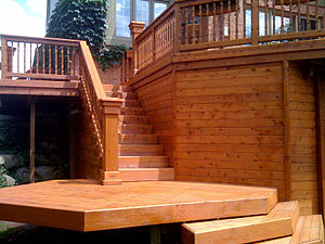 300px Semi transparent deck stain Deck Staining
