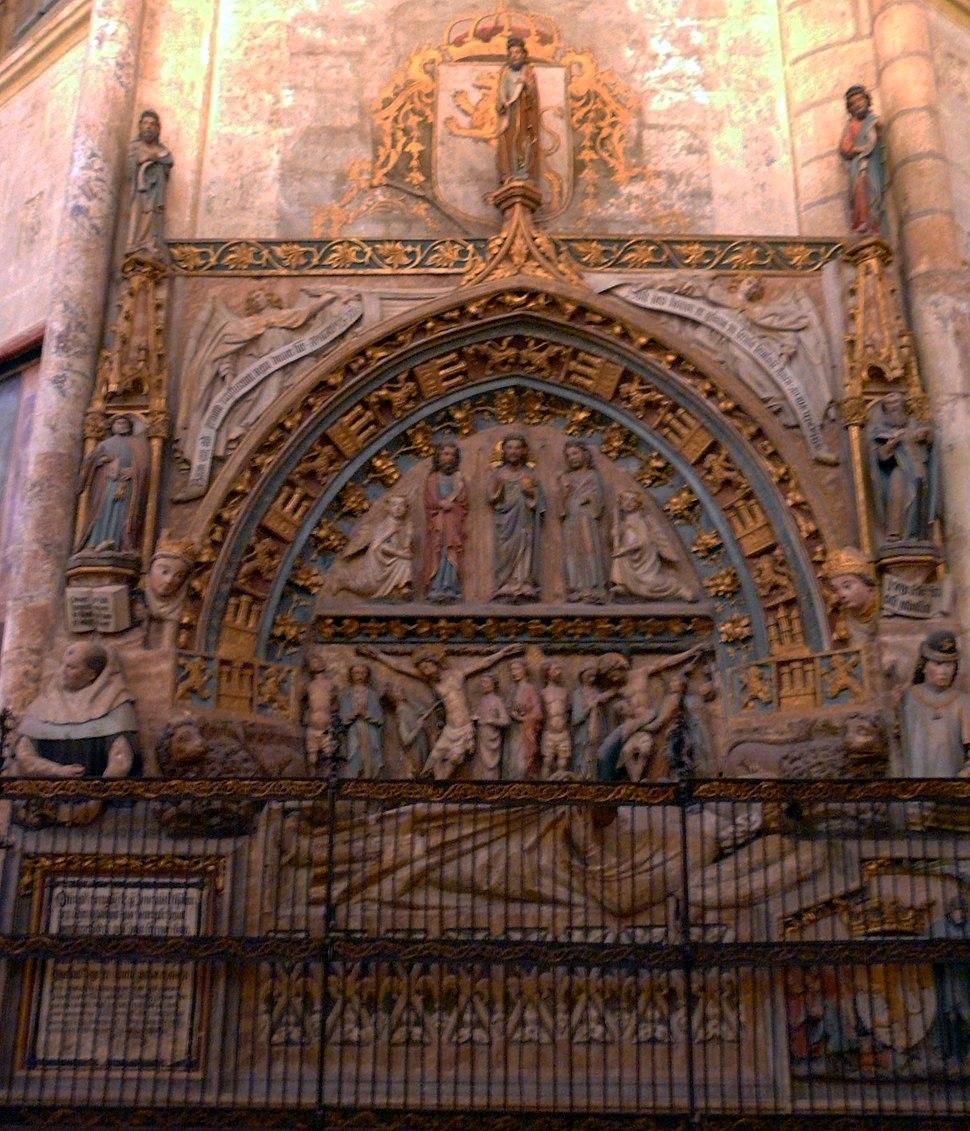 Sepulcro del rey Ordoño II, catedral de León
