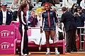 Serena Williams and Mary Joe Fernandez (7105326103).jpg