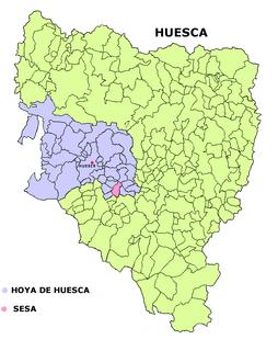 Sesa, Spain municipality in Aragon, Spain