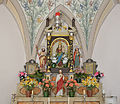 Seventeenth century altar in Val Badia in a housechapel overview.jpg