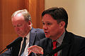 Shadow Minister for Business, Innovation and Skills Iain Wright MP (right) and David Cruickshank, Chairman of Deloitte.jpg