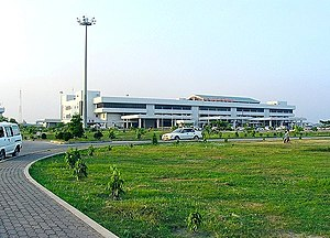 Shah Amanat International Airport - Image: Shah Amanat Airport 01