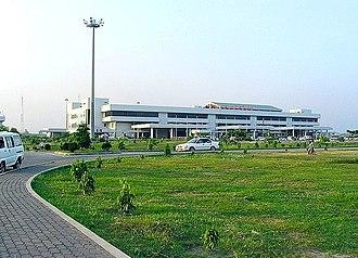 Shah Amanat International Airport - Image: Shah Amanat Airport 01