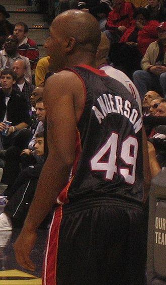 Shandon Anderson - Anderson in 2005