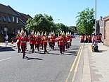 Sheet Street and the Band of The Life Guards - geograph.org.uk - 1514475