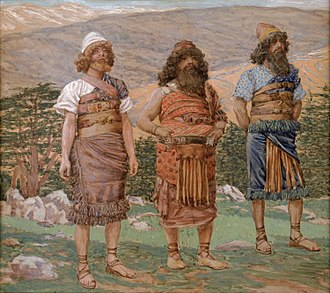 Shem - Shem, Ham and Japheth by James Tissot 1904.