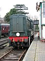 Sheringham - the old railway station - D3940 Loco - geograph.org.uk - 1180021.jpg