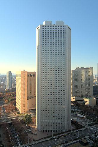 Shinjuku Sumitomo Building - Image: Shinjuku Sumitomo Building 2011 12