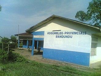 Bandundu (city) - Image: Siège de l'assemblée provinciale de Bandundu