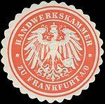 Siegelmarke, Handelskammer Frankfurt (Oder).jpg