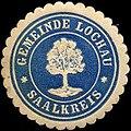 Siegelmarke Gemeinde Lochau - Saalkreis W0310947.jpg