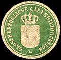 Siegelmarke Grossherzogliche Galleriedirektion W0234528.jpg
