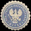 Siegelmarke Kön. Preuss. Oberförsterei Miele W0310420.jpg