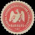 Siegelmarke K.Pr. Bezirkskommando Hamburg W0379428.jpg