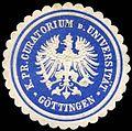 Siegelmarke K. Pr. Curatorium der Universität Göttingen W0296924.jpg