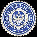 Siegelmarke Magistrat der Stadt Ruhland W0226280.jpg