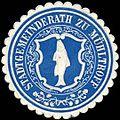 Siegelmarke Stadtgemeinderath zu Mühltroff W0313958.jpg