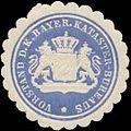 Siegelmarke Vorstand des K. Bayer. Kataster-Bureaus W0363021.jpg