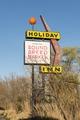 Sign for an old, now-vanished, motel in Marfa, a surprising city in Presidio County, Texas LCCN2014630313.tif