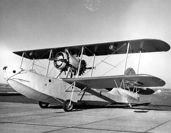 Sikorsky XP2S-1 front view