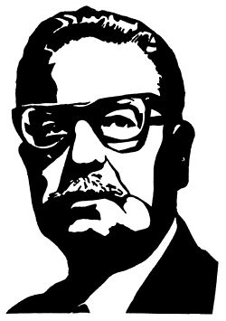 Silhouette of Salvador Allende speeches 03.jpg