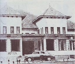 Siliwangi headquarter occupied by the APRA.jpg