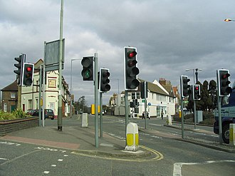 Silverhill, East Sussex - Image: Silverhill Junction St Leonards looking North West geograph.org.uk 144544