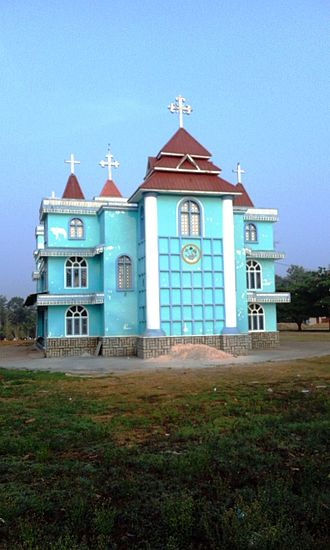 Pulpally - Simhasana Cathedral, Lower Pulpally