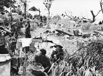 4th Battalion (Australia) - Battalion headquarters, Sio, New Guinea,  January 1944