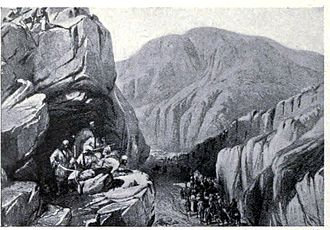 First Anglo-Afghan War - Sir – I – Khajur in the Bolan Pass, 1839