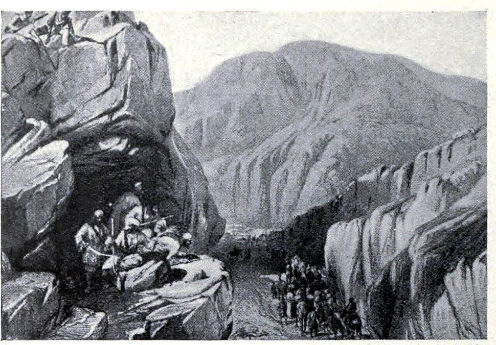 Sir - I -Khajur in the Bolan Pass, 1839