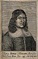 Sir Jonas Moore. Line engraving, 1660. Wellcome V0004106.jpg