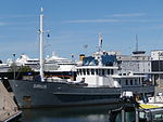 Sirius at Quay 22 at Old City Marina Tallinn 2 July 2015.JPG