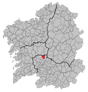 Piñor - Image: Situacion Piñor