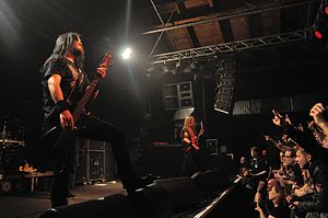 Six Feet Under (band) - Image: Six Feet Under at Hatefest (Martin Rulsch) 26