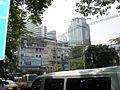 Skyscraper with a portrait of King Bhumibol.jpg